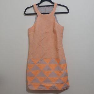 Trina Turk textured racerback dress